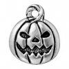 Jack O'Lantern - Antique Silver
