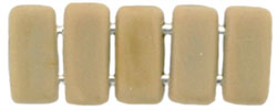 Two Hole  Brick (50 pieces) - French Beige Matte