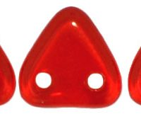 Two-Hole Triangle - Siam Ruby
