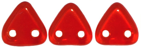 Two-Hole Triangle - Siam Ruby