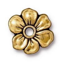 Apple Blossum Rivetable - Antique Gold