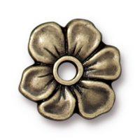 Apple Blossum Rivetable - Brass Ox