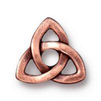Celtic Rivetable - Antique Copper