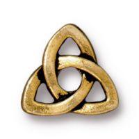 Celtic Rivetable - Antique Gold