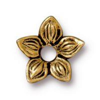 Star Jasmine Rivetable - Antique Gold