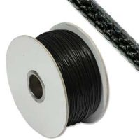Faux Snake Leather - 1mm - Black