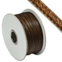 Faux Snake Leather - 1mm - Brown