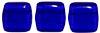 Two Hole Tile (50 pieces) - Cobalt