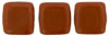 Two Hole Tile (50 pieces) - Umber