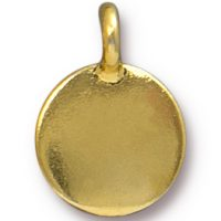 Blank Charm - Gold Plated