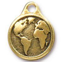 Earth Drop - Antique Gold