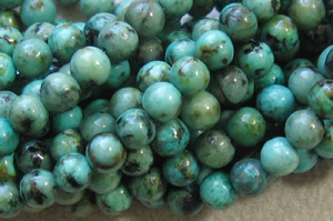 African Turquoise - 8mm Round