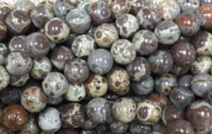 Dotted Jasper - 8mm Round