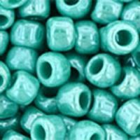 Toho 6/0 Round Opaque Lustered Turquoise