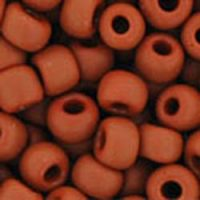 Toho 6/0 Round Opaque Frosted Terra Cotta