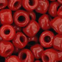 Toho 6/0 Round Opaque Cherry