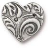 Button Amor - Antique Pewter