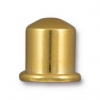 Cupola Brass Cord End - 6mm