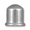 Cupola Brass Cord End - 8mm